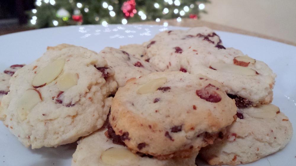 1418632170235 White Chocolate Cherry Shortbread Cookies