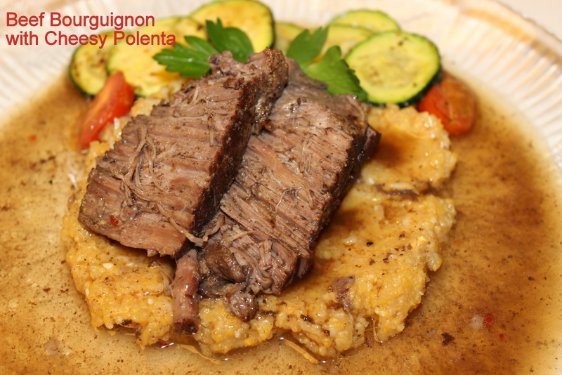 Lighter+Beef+Bourguignon+with+Cheesy+Polenta Lighter Beef Bourguignon with Cheesy Polenta