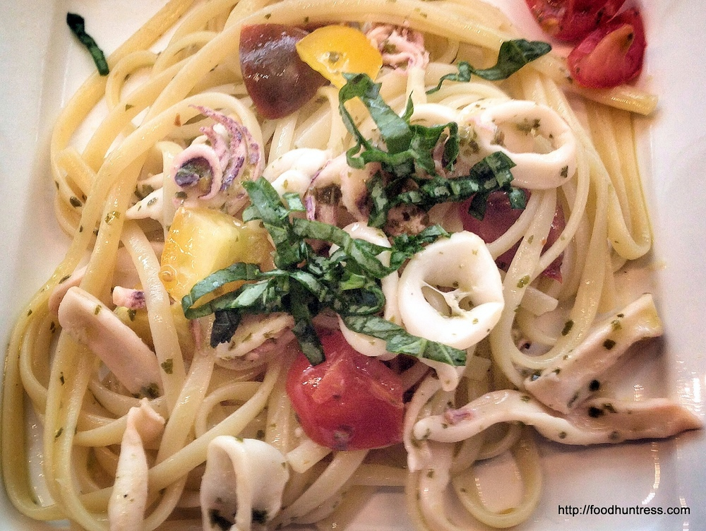 Linguine+with+Squid+and+Cilantro+Basil+Sauce Linguine with Squid and Cilantro Basil Sauce