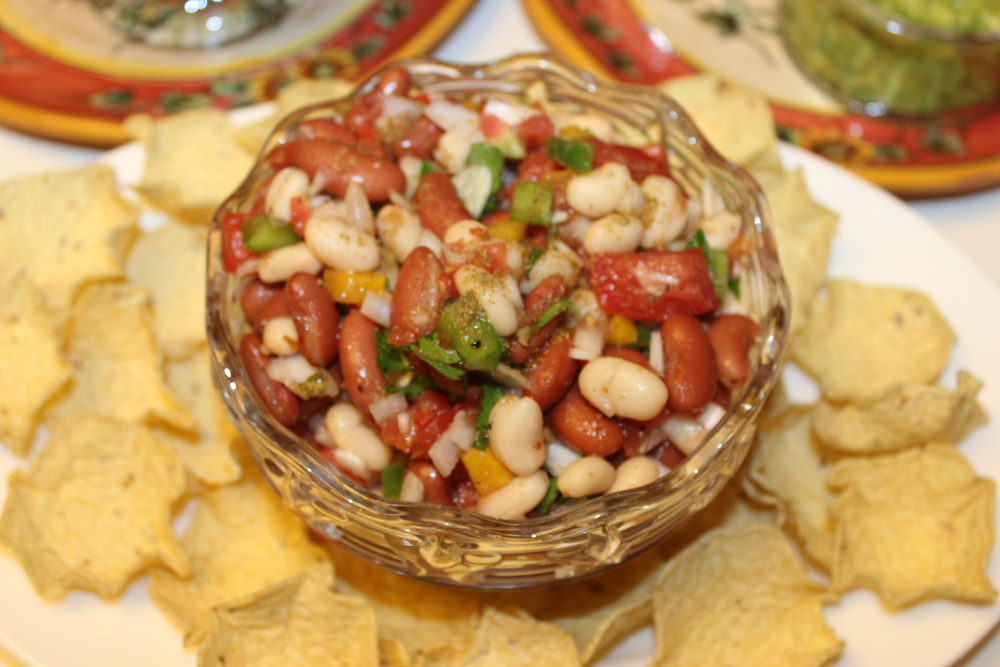 Bean+Salsa+or+Bean+Salad..... Bean Salsa or Bean Salad You Decide!