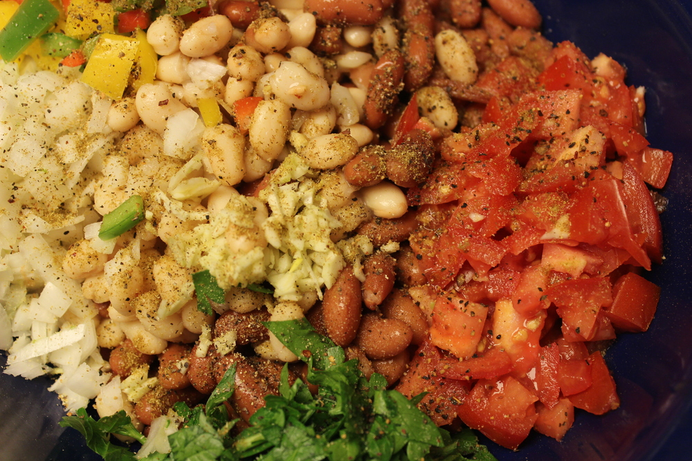 Bean+Salsa+or+Bean+Salad Bean Salsa or Bean Salad You Decide!