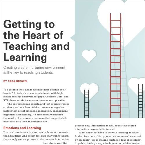 Article in Association of Middle Level Educators (AMLE)