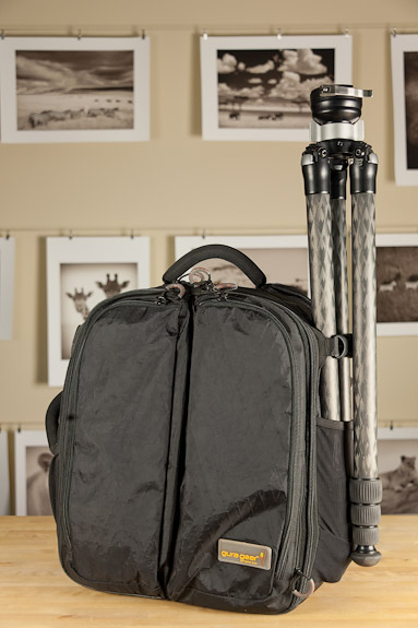 Gura Gear Kiboko 22L+ bag with RRS TVC-24L tripod