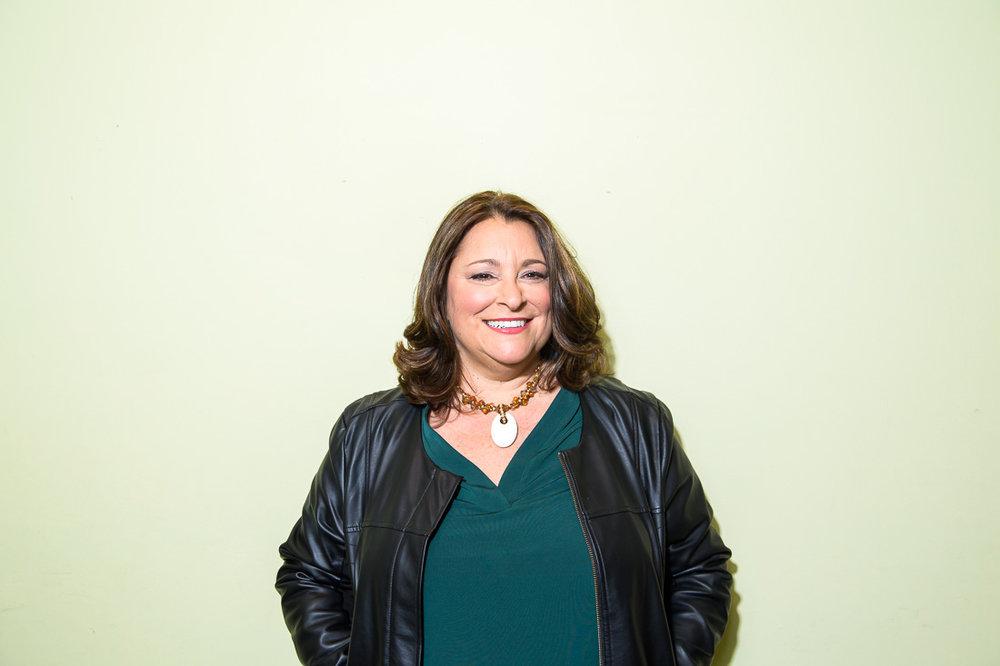 Marketing Expert Donna Cravotta taking a portrait photo
