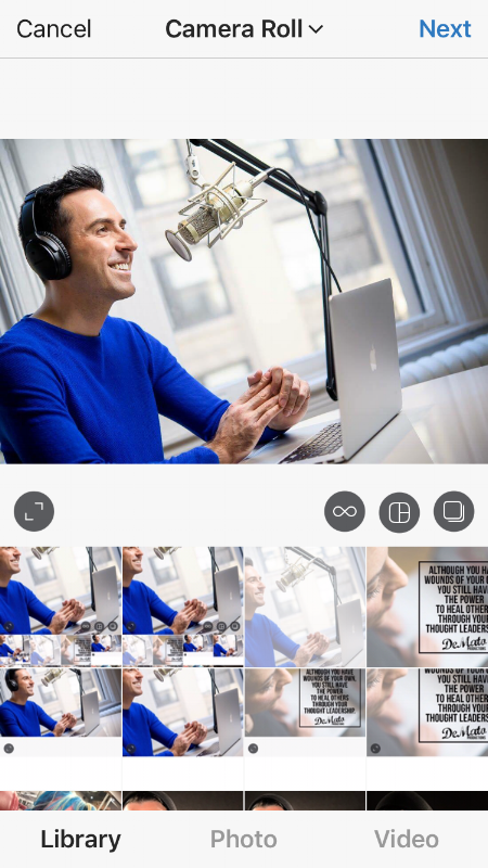NYC business portrait Milan podcasting IG Post Cropped