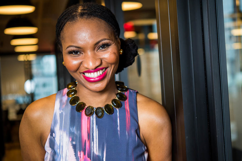 NYC branded lifestyle portrait speaker Chinwe Esimai