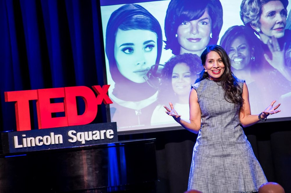 NYC Branded Lifestyle Portraits TEDxLincolnSquare Speaker Dr. Tasneem Bhatia