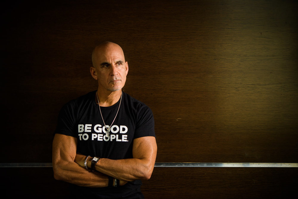 NYC Branded Lifestyle Portrait SpeakerAuthor Thought LEader Ted Rubin thinking to himself