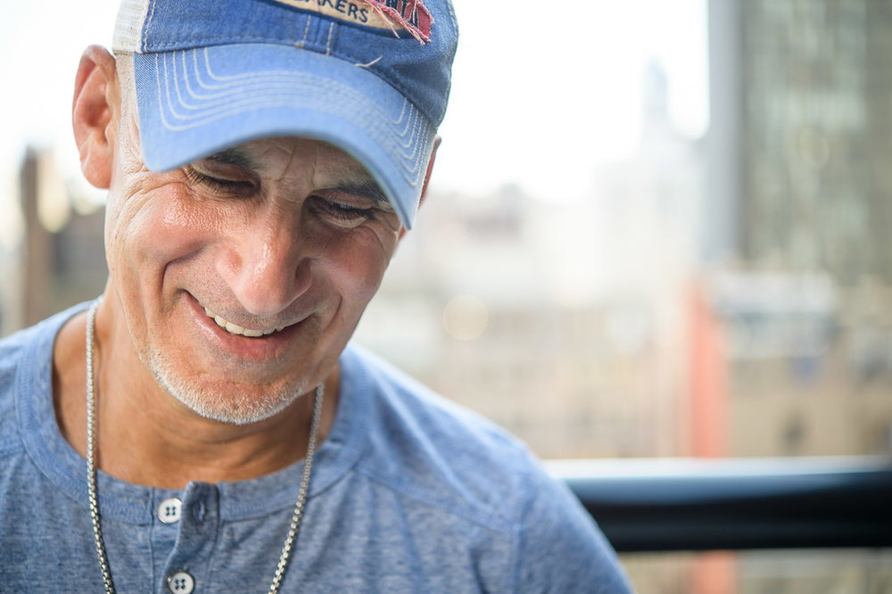 NYC Branded Lifestyle Portrait SpeakerAuthor Thought LEader Ted Rubin candid smile