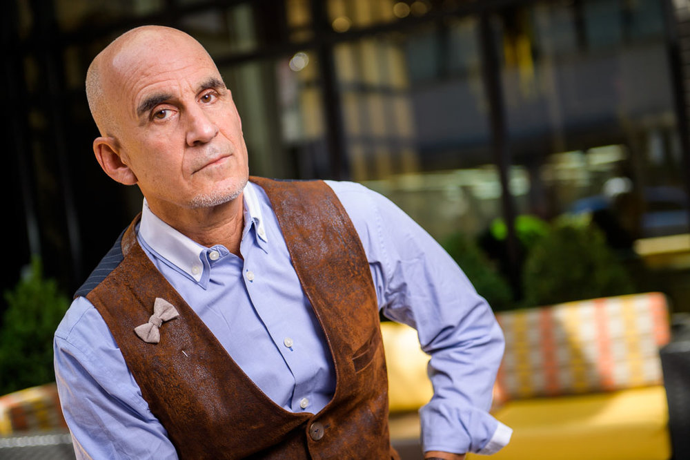 NYC Branded Lifestyle Portrait SpeakerAuthor Thought LEader Ted Rubin portrait