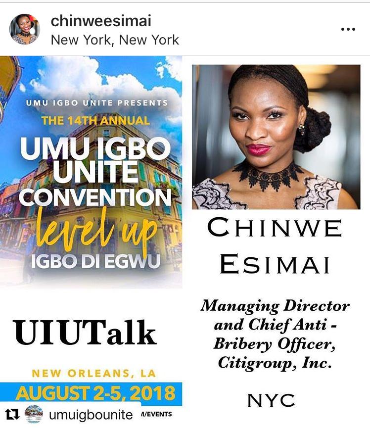 branded lifestyle portrait Chinwe Esimai ad for speaking gig