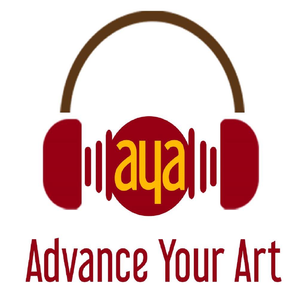 Advance Your Art Podcast Logo