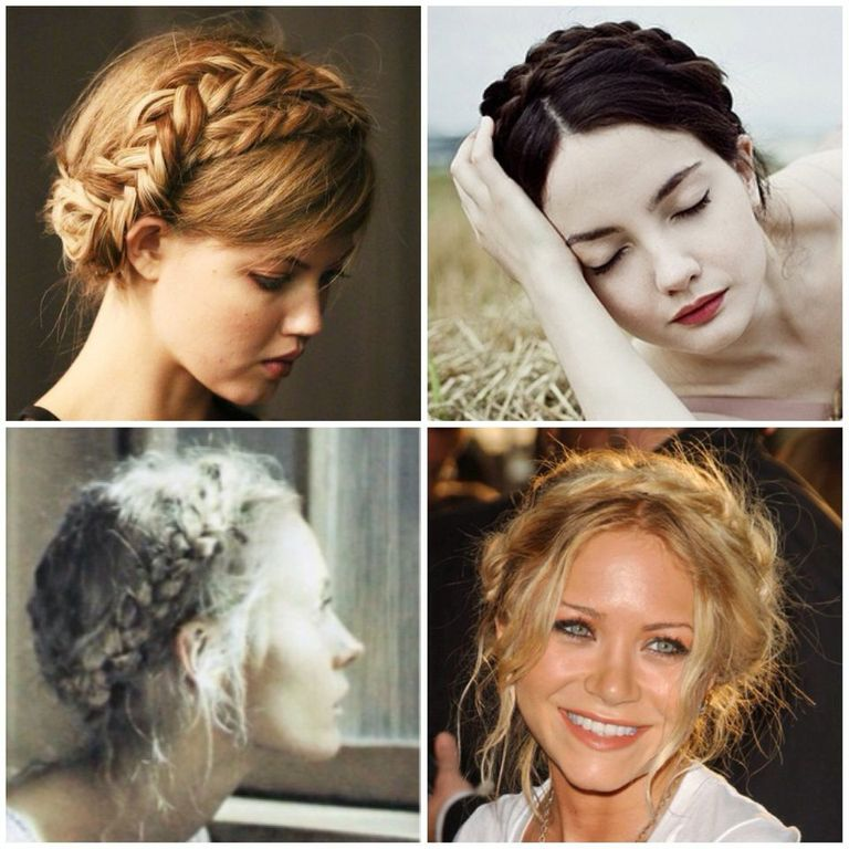 Milkmaid braids are an elegant look, perfect for any occasion.