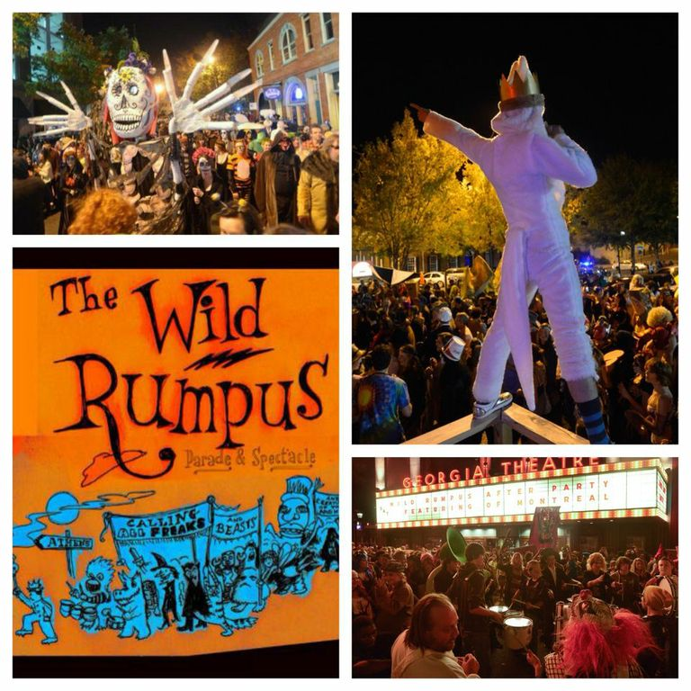 The best part of Halloween in Athens- The Wild Rumpus Parade!