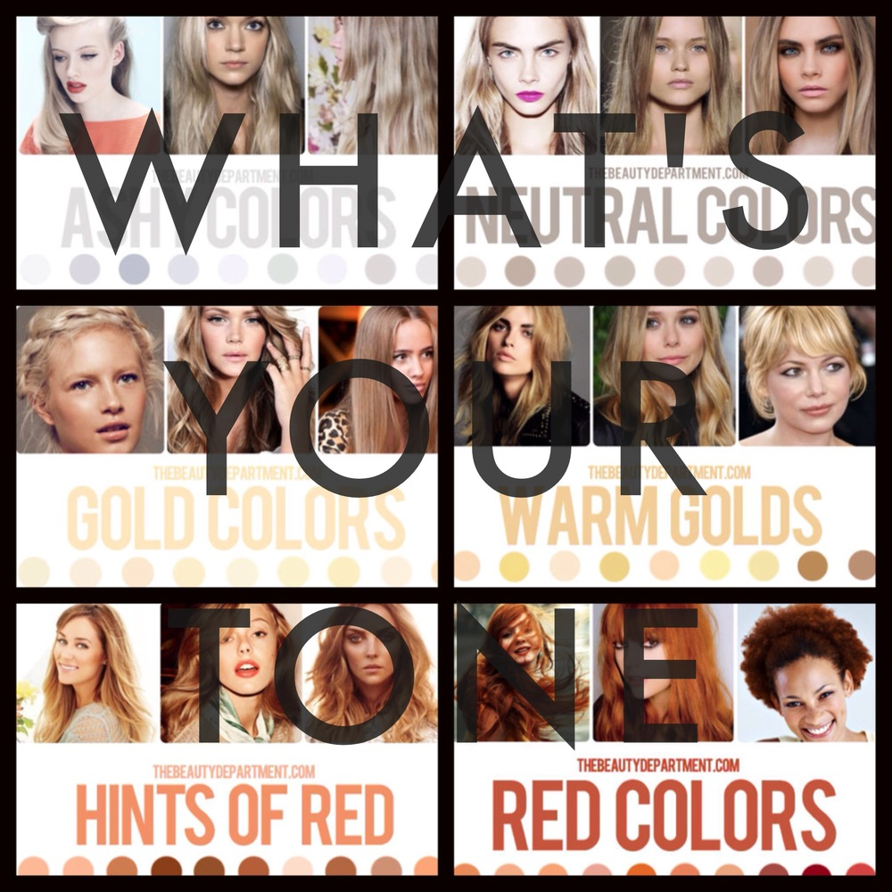 Your Perfect Hair Color Shade Vs Tone Pageboy Salon