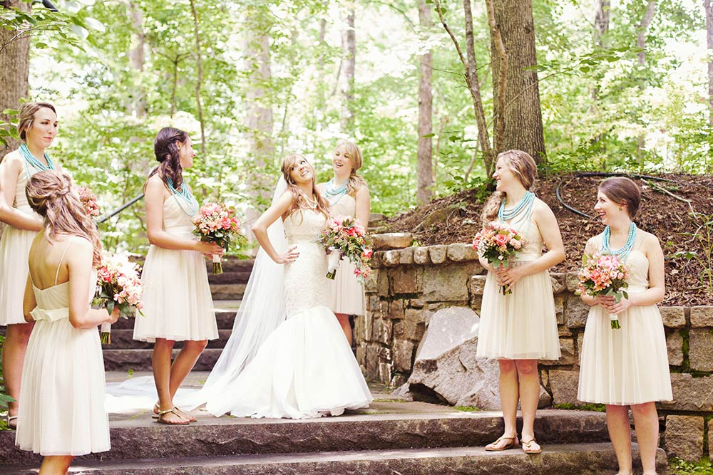 Athens GA Wedding Hair For A Boho Chic Bride