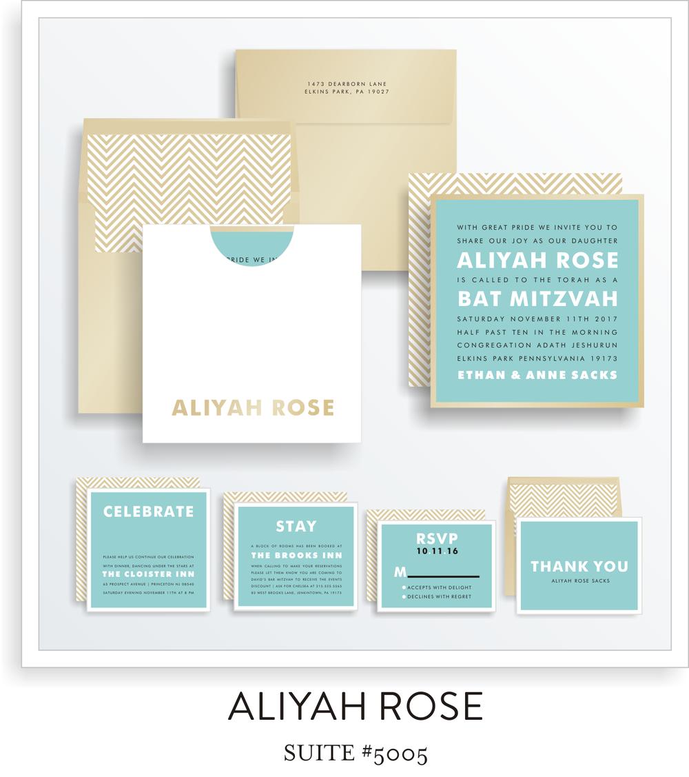 bat mitzvah invitations 5005