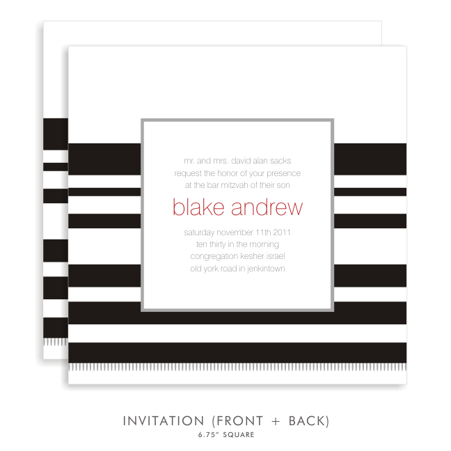 Blake andrew suite 5056 black and red bar mitzvah invitations 5056 02g solutioingenieria Choice Image