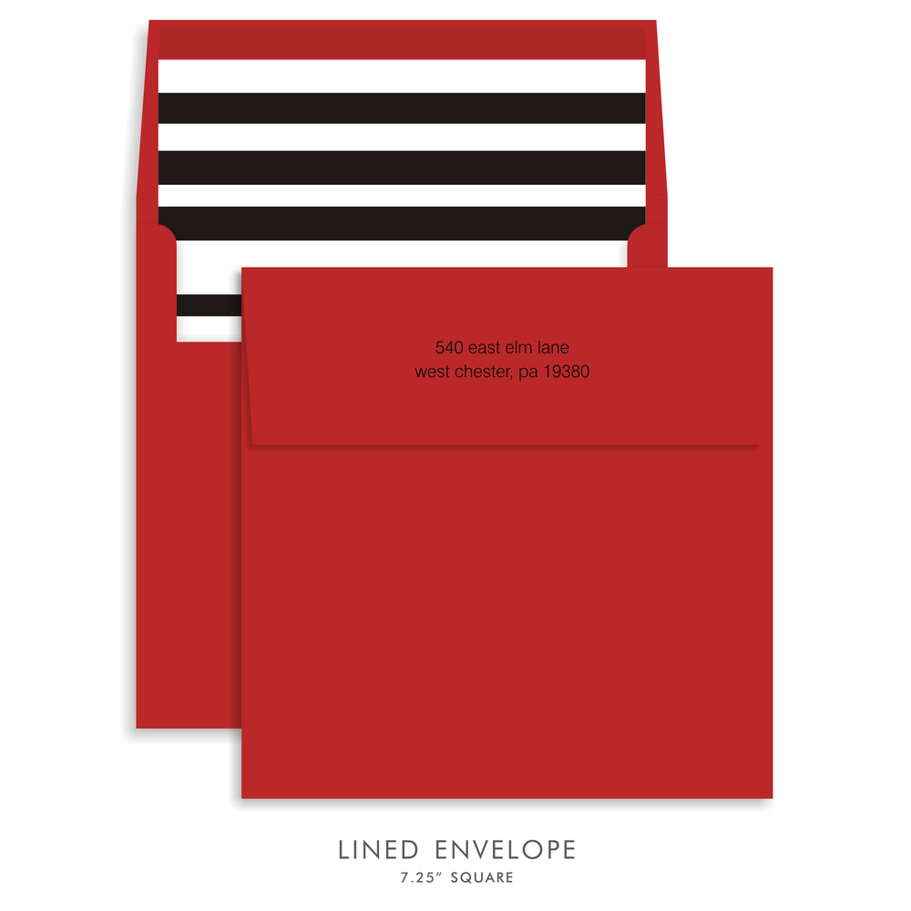 Blake Andrew (Suite 5056) Black and Red Bar Mitzvah Invitations ...