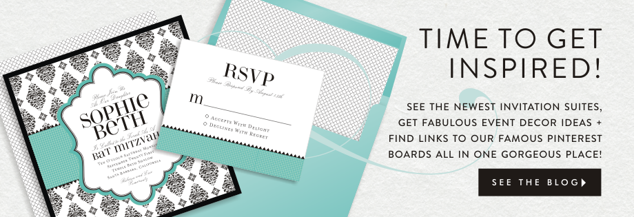 Personalize Your Invitation Suite