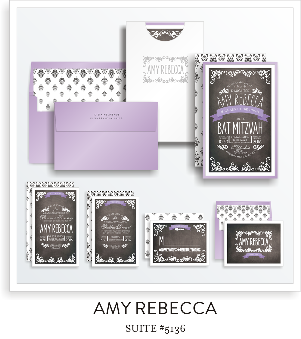 Copy of bat mitzvah invitations 5136