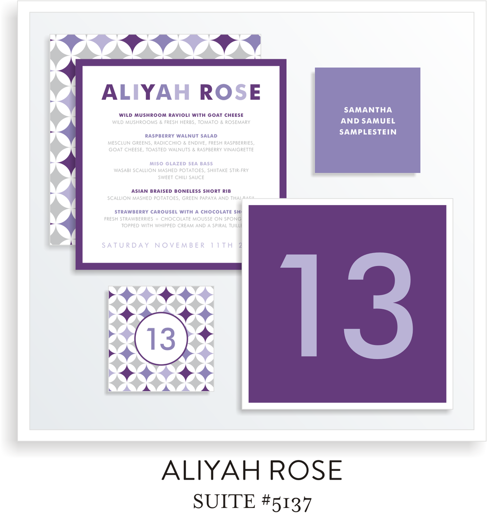Table Top Decor Suite 5137 - Aliyah Rose