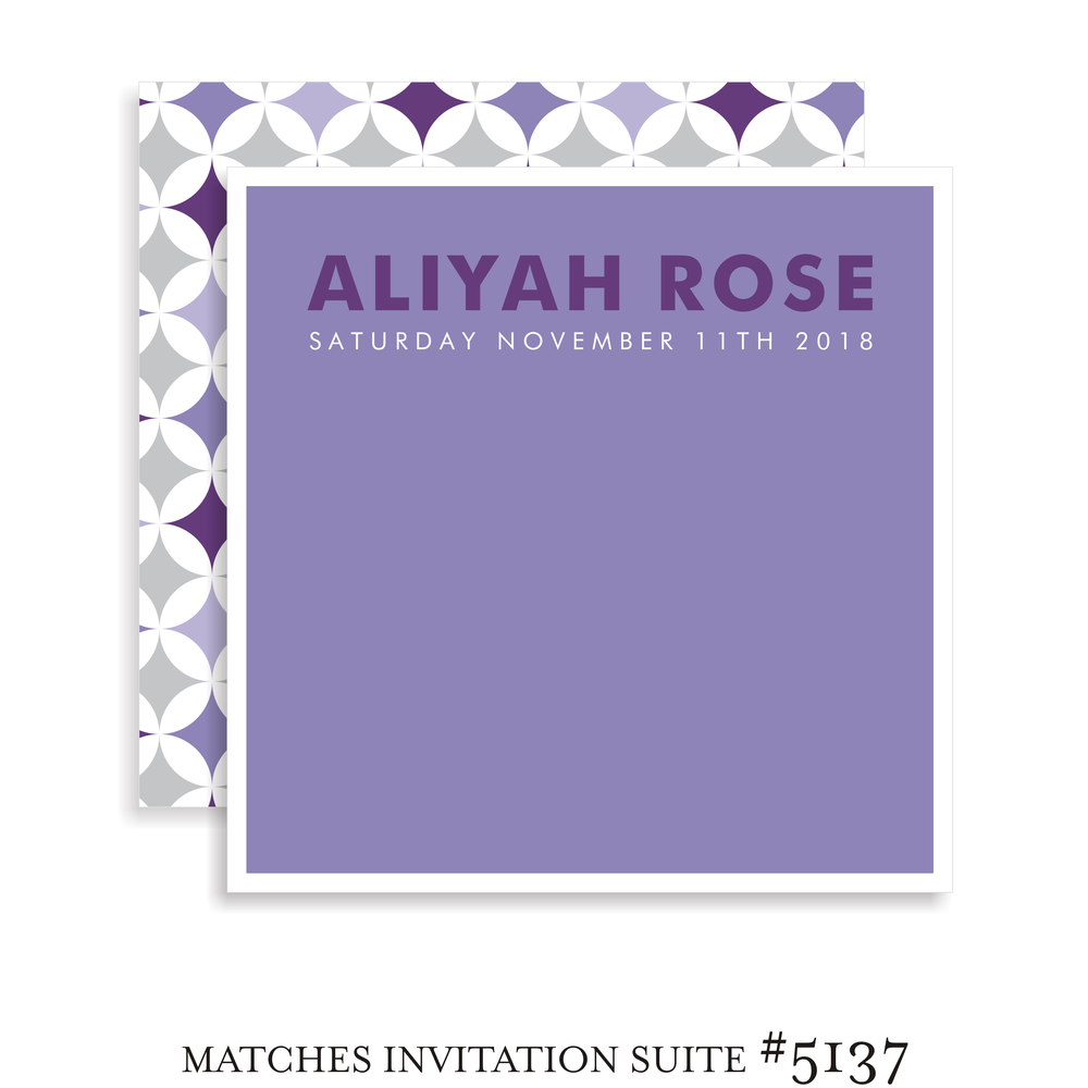 Sign In Board Suite 5137 - Aliyah Rose