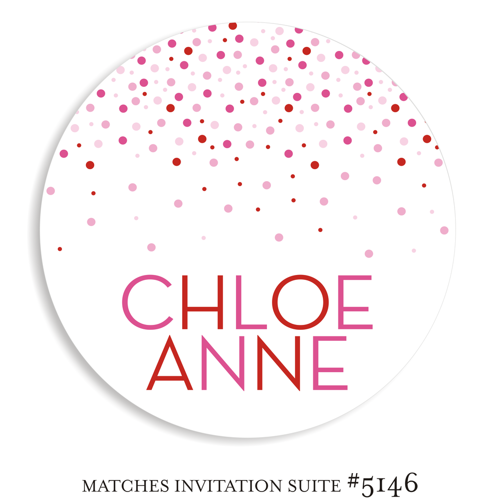 Dancefloor Decal Bat Mitzvah Suite 5146 - Chloe Anne