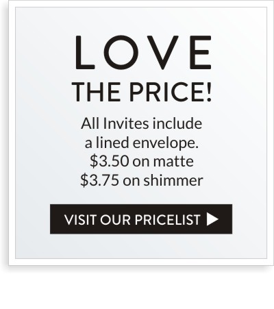 bar mitzvah invitation price list