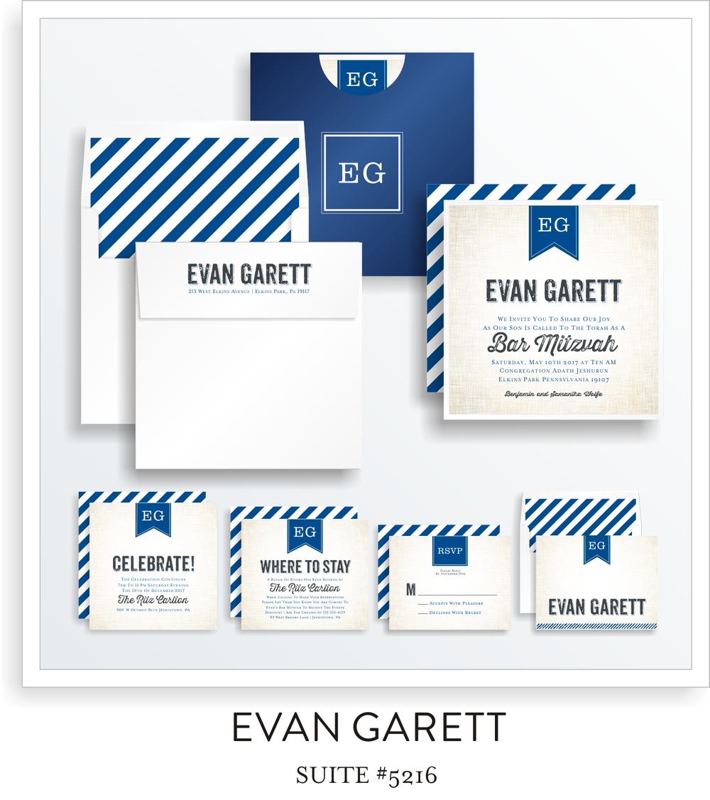 Copy of Bar Mitzvah Suite 5216 - Evan Garett
