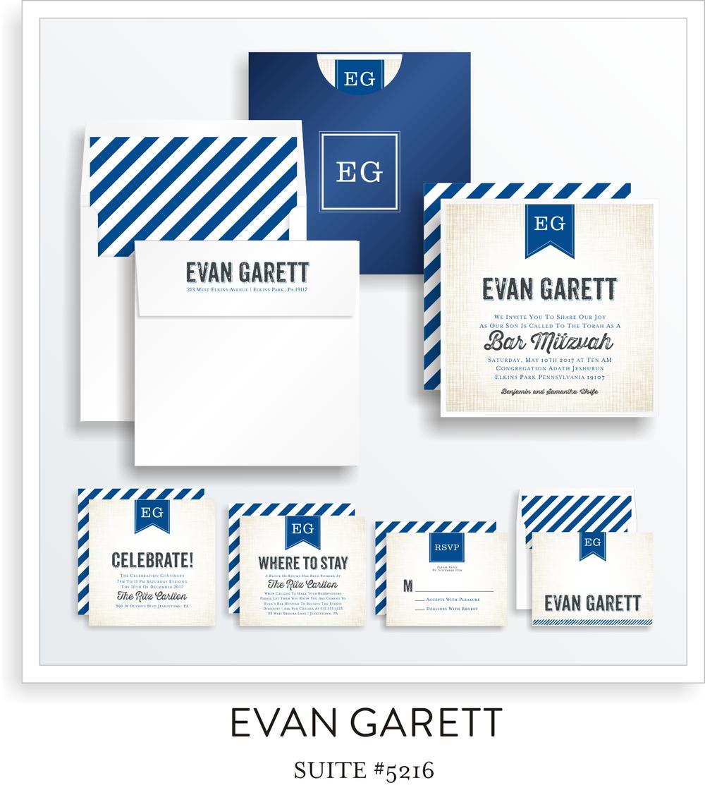 Bar Mitzvah Suite 5216 - Evan Garett