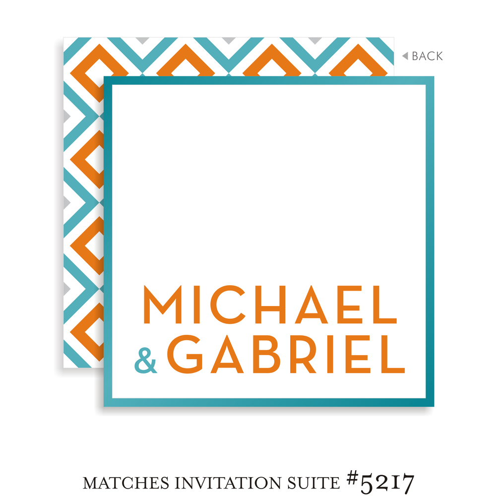 Bar Mitzvah Sign In Board 5217 - Michael Gabriel
