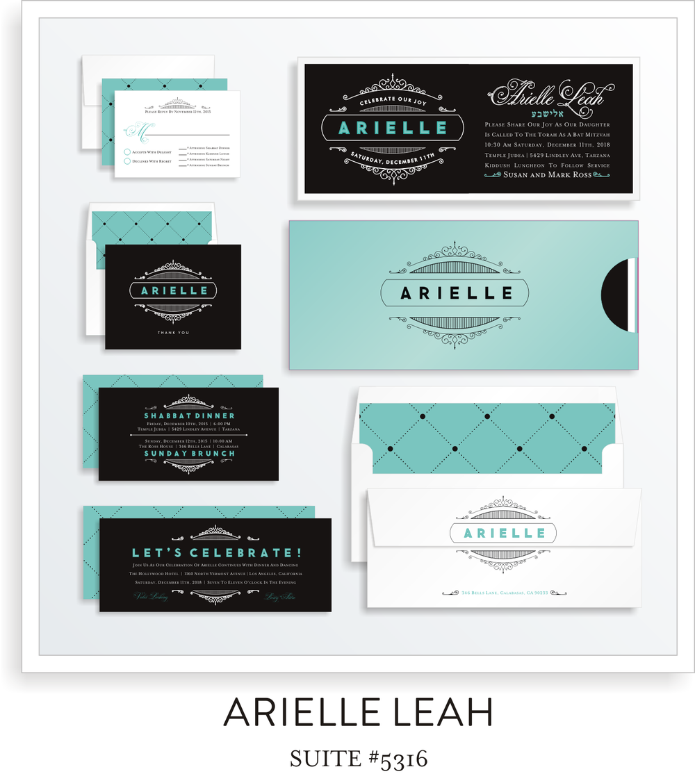 Copy of Copy of BAT MITZVAH SUITE 5316-ARIELLE LEAH