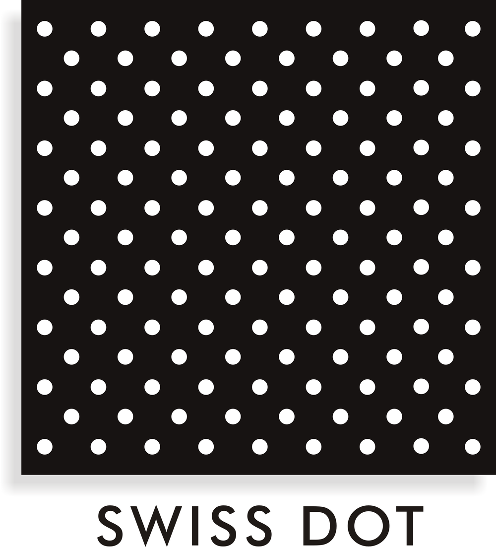 swiss dot pattern