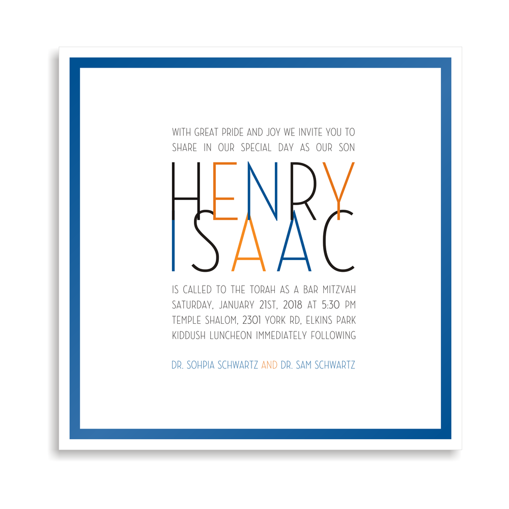 Henry Issac Modern Invite Front Middle Sq.png