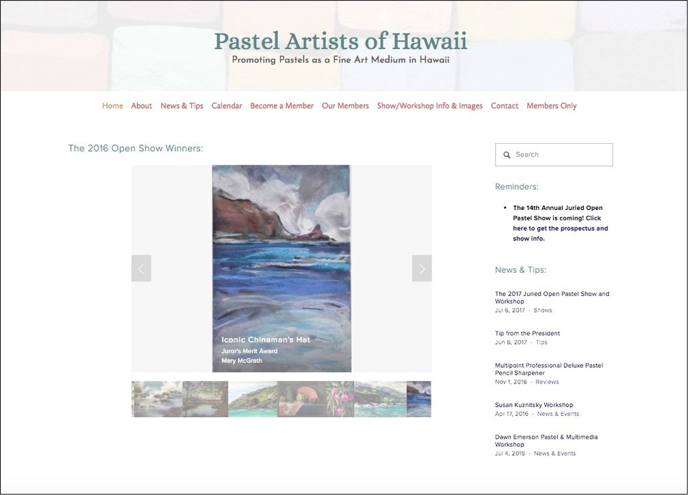 Pastel Artists of Hawaii