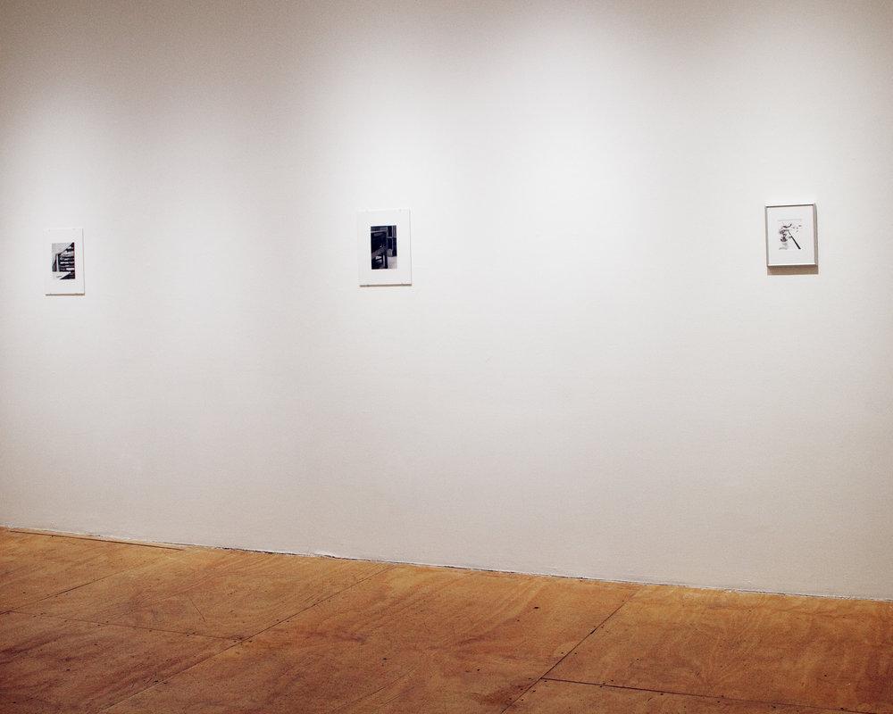 """Block, Paper, Scissors,"" Solo Show, New York, NY, 2017"