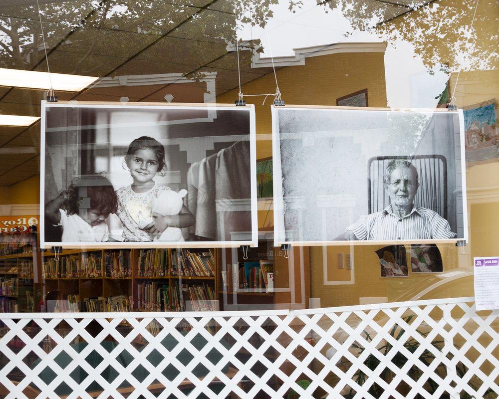 """""""Windows on Main Street,"""" Group Exhibition, Howland Public Library, Beacon, NY, 2011"""