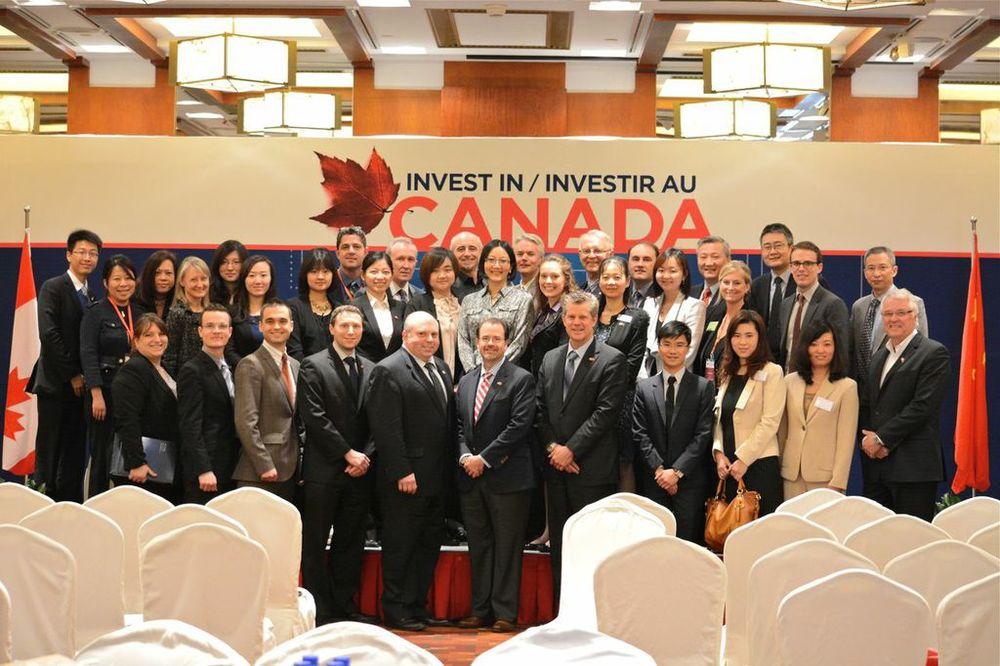 Canadian Delegation in Beijing