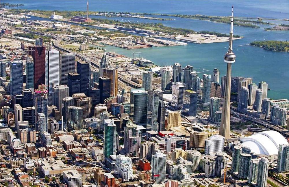 Toronto city landscape
