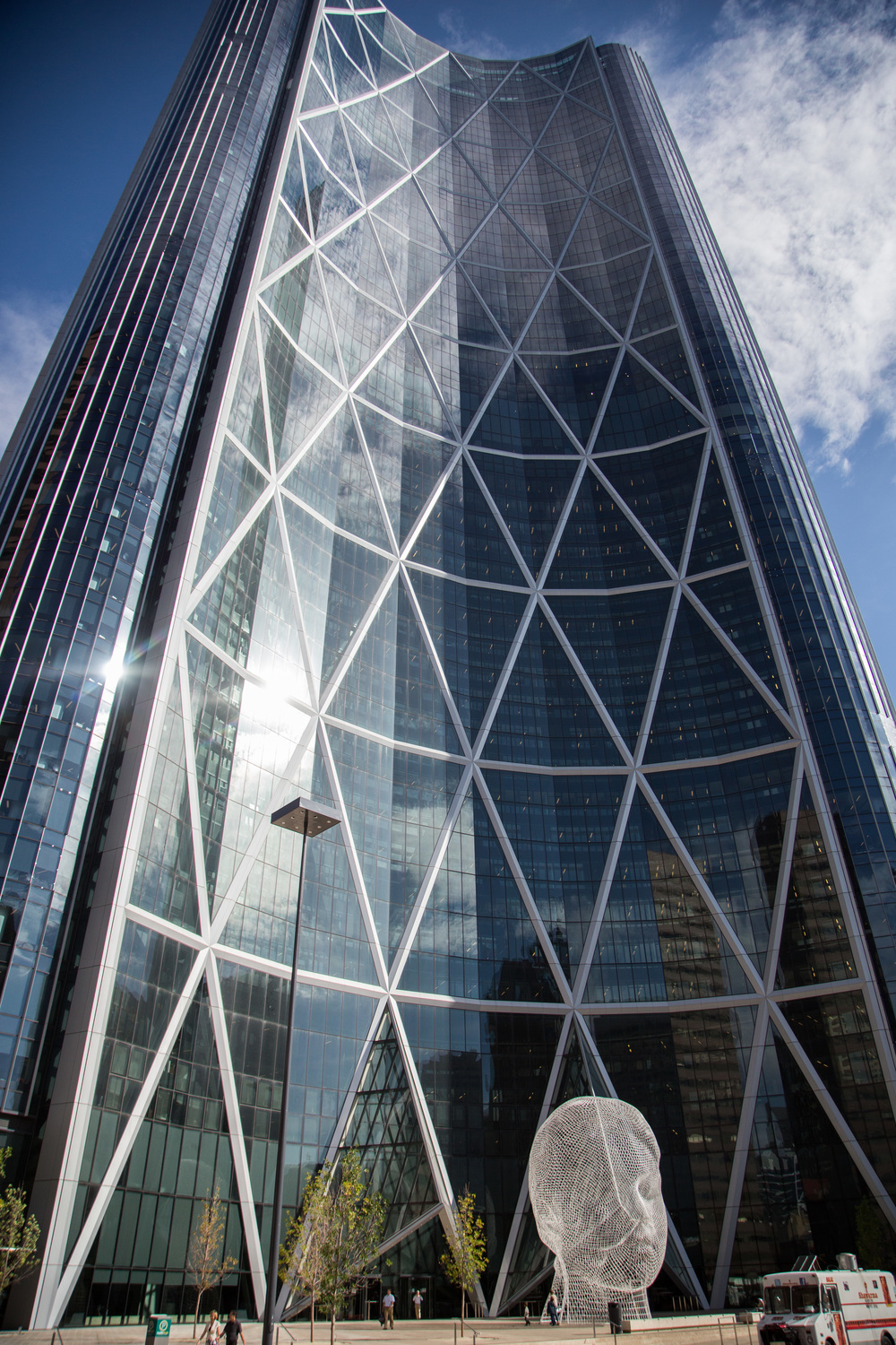 The Bow - the most recognizable building in the Calgary skyline