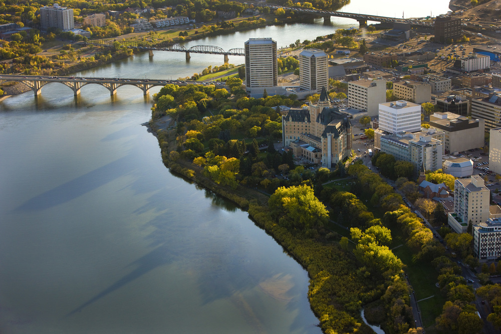 Saskatoon city landscape