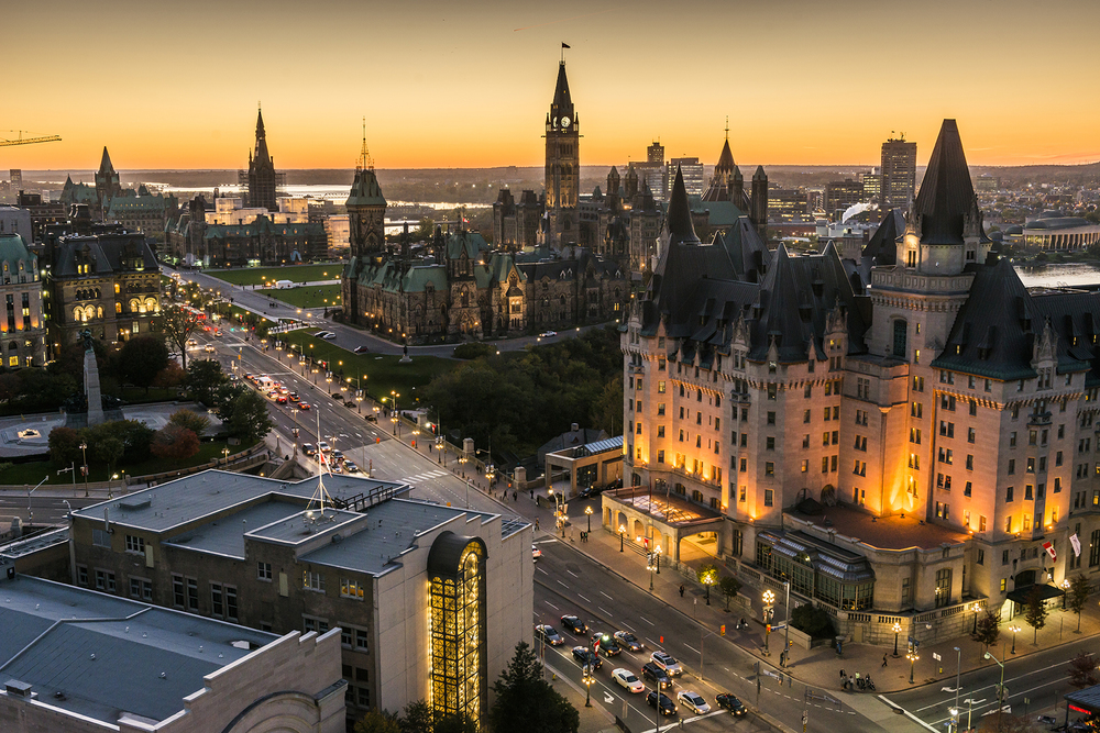 Canada's Capital City - Home to the Government of Canada, the Supreme Court of Canada and many Federal departments and agencies