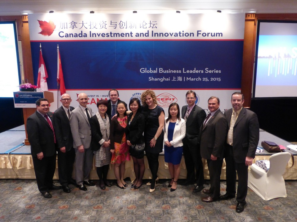 CCCA delegation in Shanghai (Photo credit: DFATD - Invest in Canada)