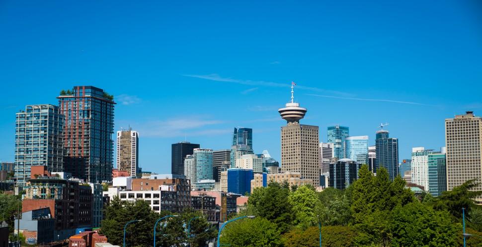 Vancouver skyline (photo credit: vancouver economic commission)