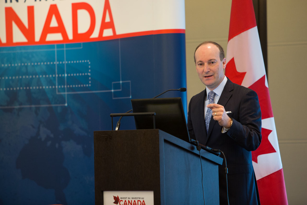 Douglas Porter, Keynote Speaker and Chief Economist and Managing Director, BMO Financial Group (Photo credit: Invest in Canada)
