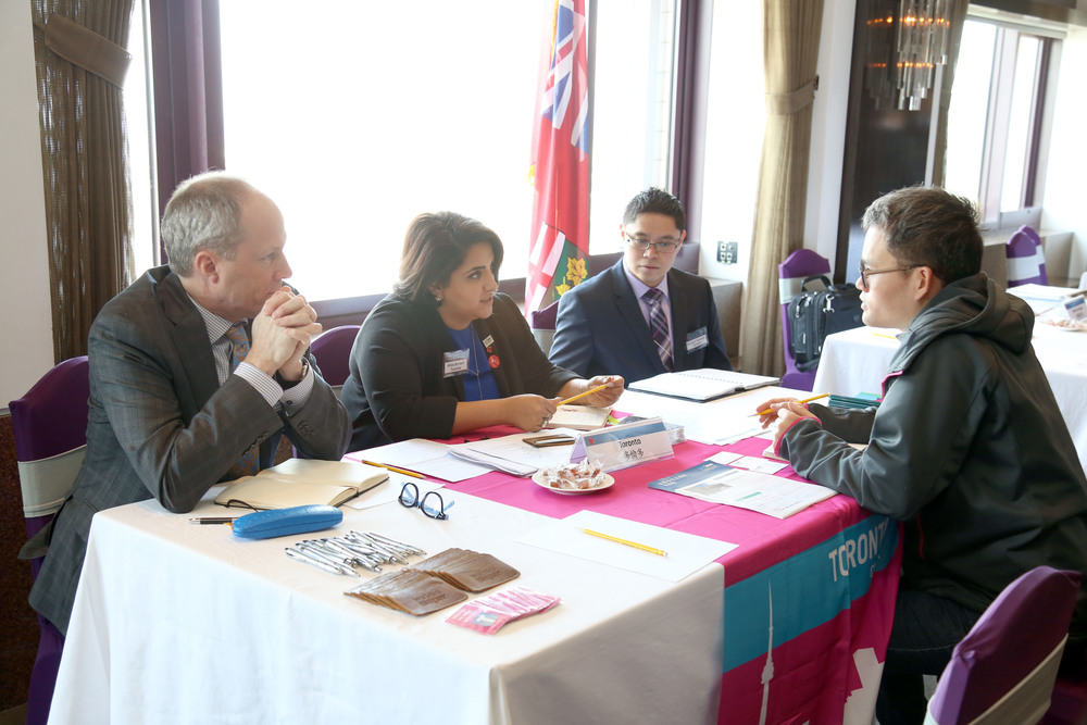 B2B meetings in Taipei (Photo credit: Invest in Canada)