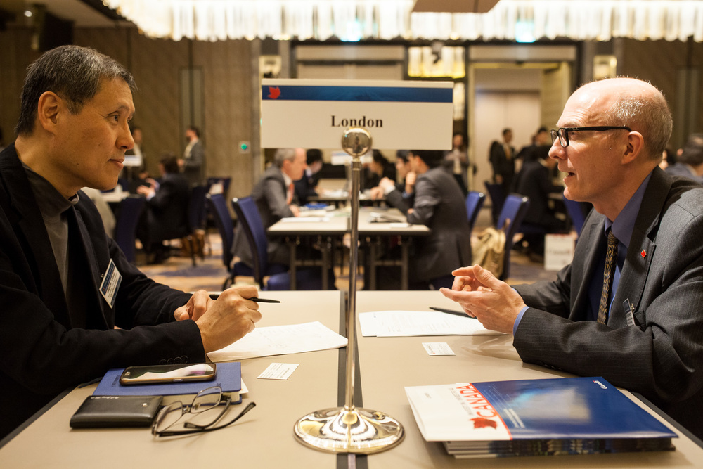 B2B meetings in Seoul (Photo credit: Invest in Canada)