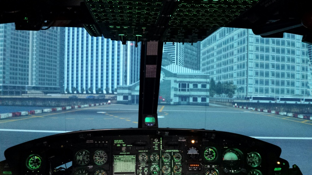 Inside the CAE Simulator (Photo credit: Montreal International)