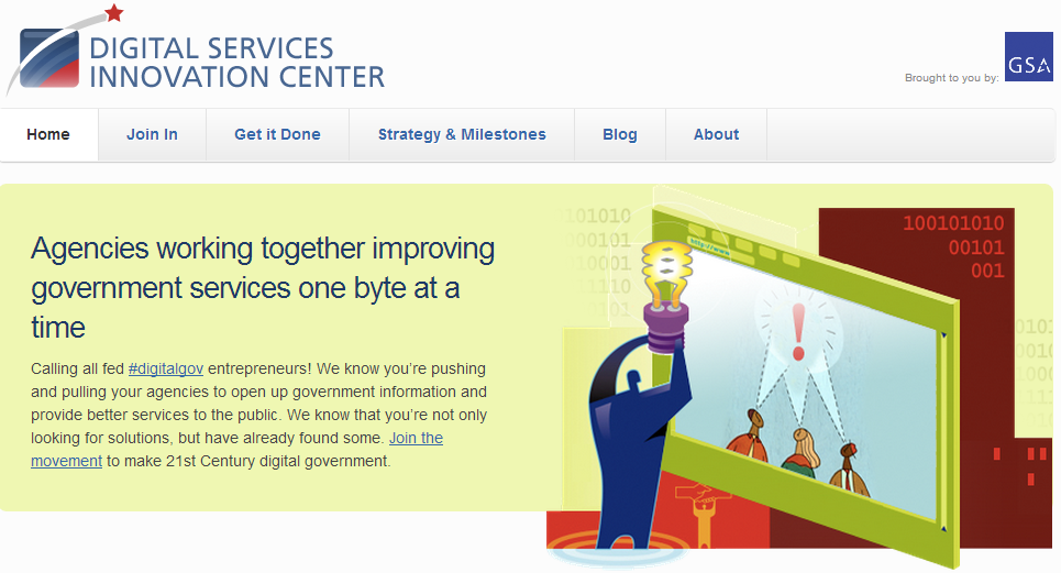 The GSA's Digital Services Center offers improved government web services.